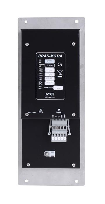 RRAS-MCT/A - zadní pohled